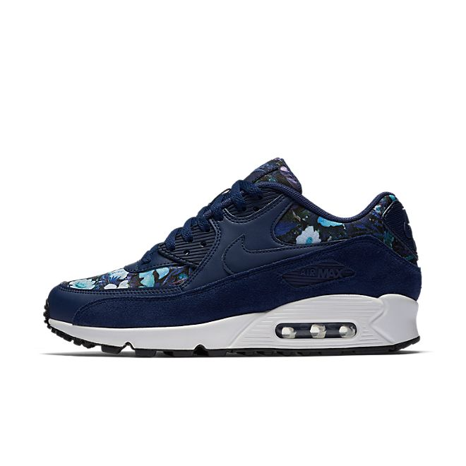 Nike Air Max 90 SE 'Floral Blue' | 881105 400 | Sneakerjagers