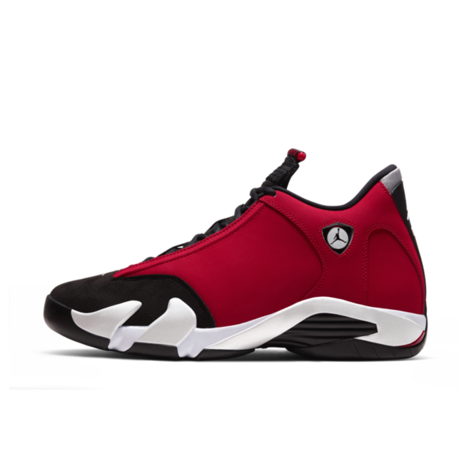 Air Jordan 14 'Gym Red' zijaanzicht