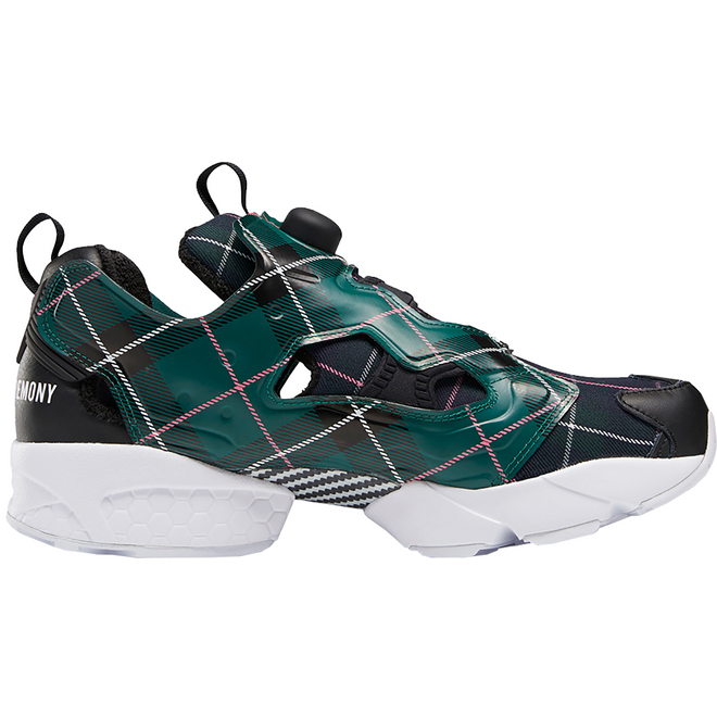 Reebok Instapump Fury Opening Ceremony Plaid Green