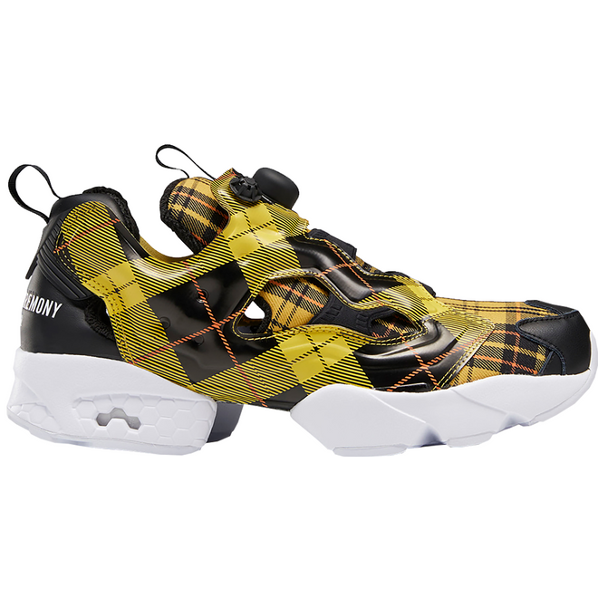 Reebok Instapump Fury Opening Ceremony Plaid Yellow