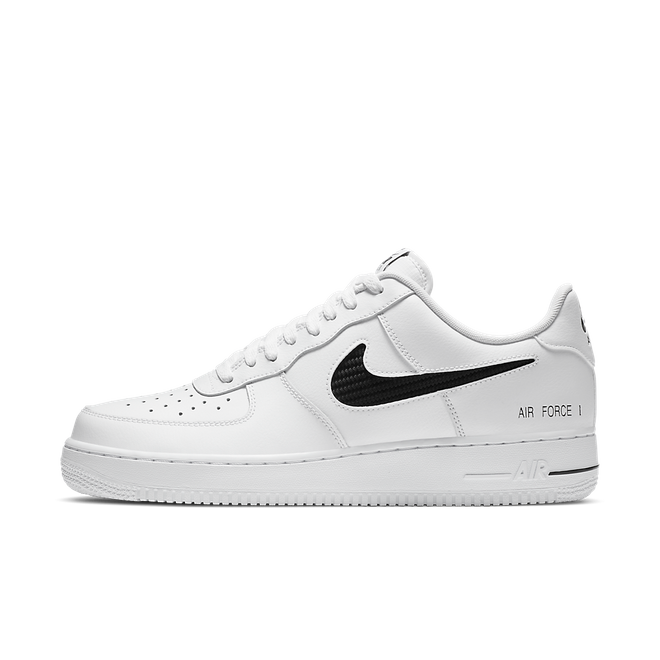 Nike Air Force 1 'Cut-Out' zijaanzicht