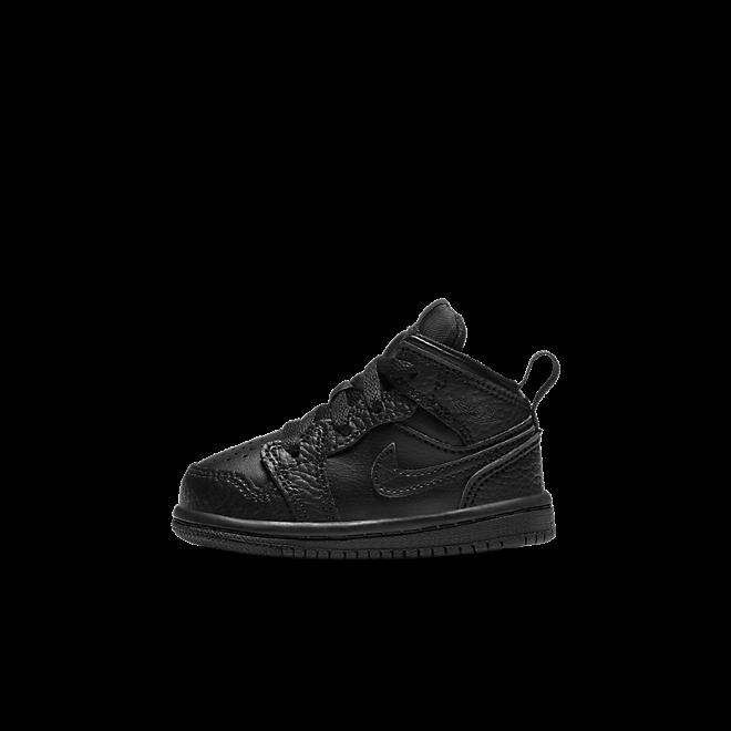 "Air Jordan 1 MID (TD) ""BLACK"""