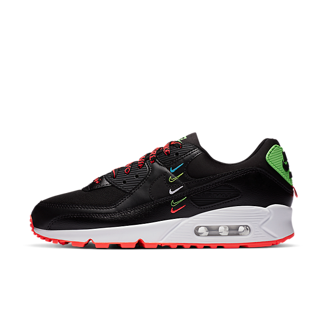Nike Air Max 90 SE 'Worldwide' - Black zijaanzicht