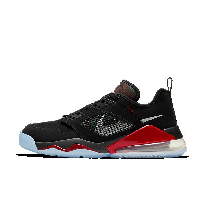 Herren Sneaker Mars 270 Low Black Metallic Silver Red