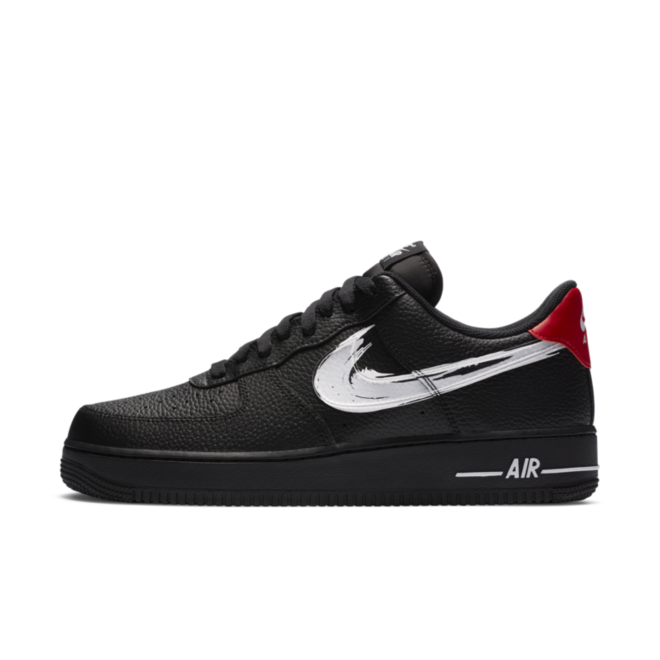 Nike Air Force 1 'Brushstroke Pack' - Black DA4657-001