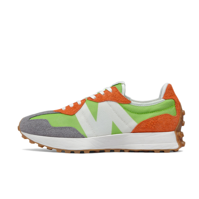 New Balance MS327SFA 'Orange/Green' zijaanzicht