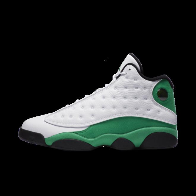 Jordan 13 Retro 'Lucky Green' zijaanzicht