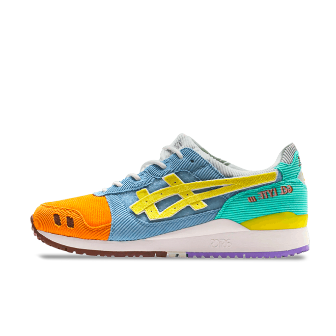 Sean Wotherspoon X Atmos X ASICS Gel-Lyte III zijaanzicht