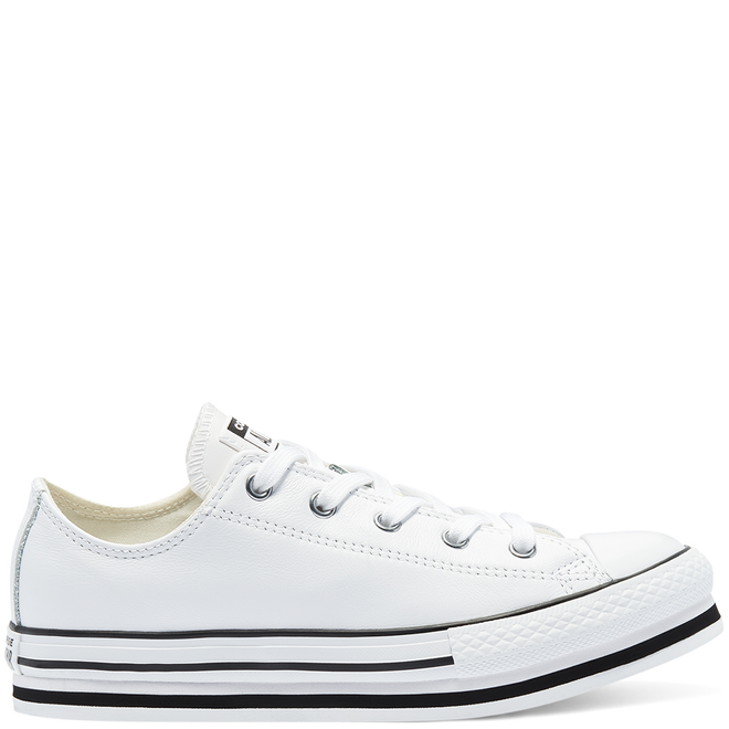 Big Kids Leather EVA Platform Chuck Taylor All Star Low Top 669709C
