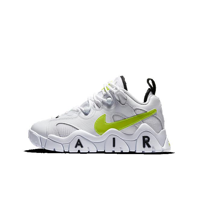 Nike Air Barrage Low White Black Volt (GS)