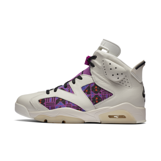 Quai 54 X Air Jordan 6 'Purple' zijaanzicht