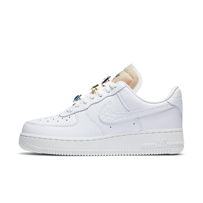 Nike WMNS Air Force 1 '07 LX Low 'Bling' zijaanzicht