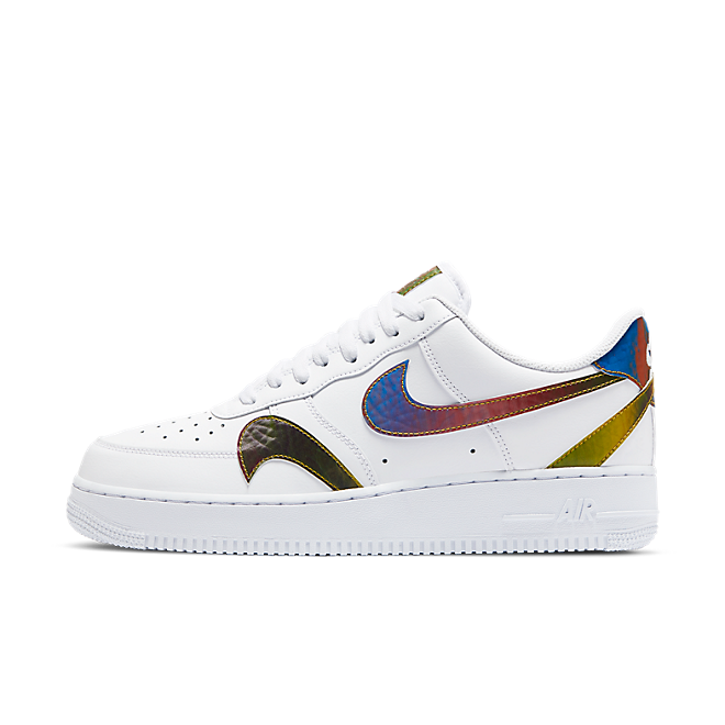 Nike Air Force 1 'Swooshes' zijaanzicht