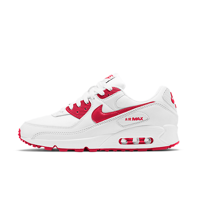 Nike WMNS Air Max 90 Summer Pack 'University Red' zijaanzicht