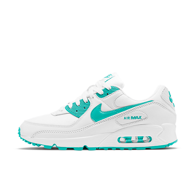 Nike WMNS Air Max 90 Summer Pack 'Persian Green' zijaanzicht