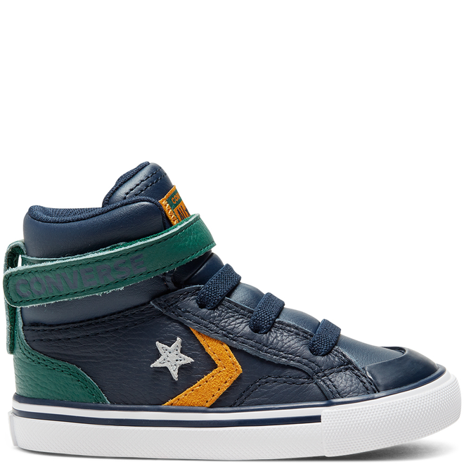 Toddler Twill Twist Pro Blaze Strap High Top