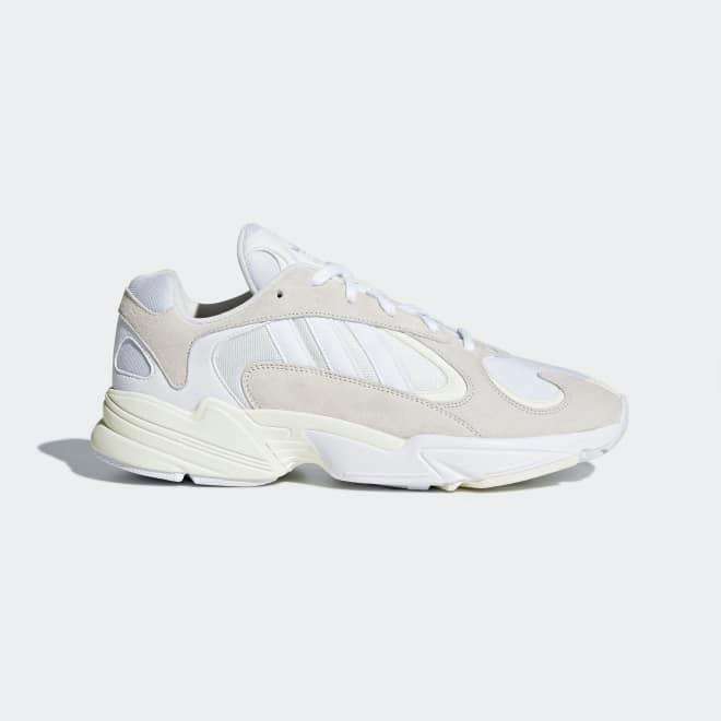 adidas Iniki Runner Grey White zijaanzicht