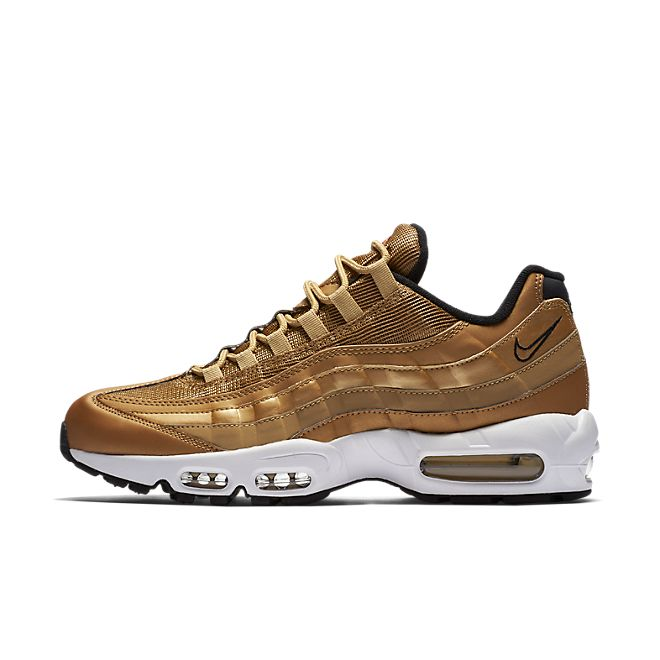 Nike Air Max 95 'Metallic Gold' zijaanzicht