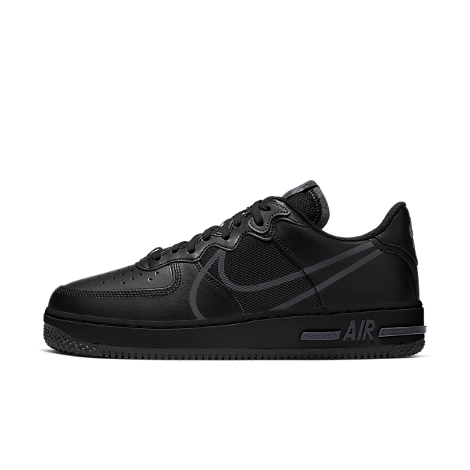 Nike Air Force 1 React Black Anthracite