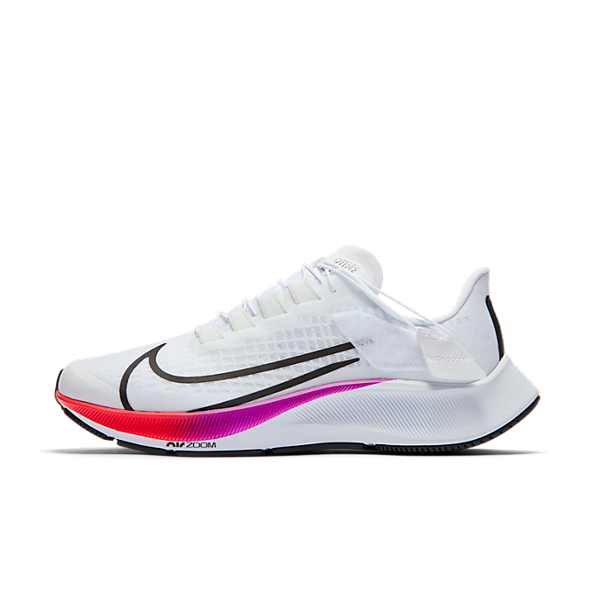 Nike Air Zoom Pegasus 37 Flyease White Multi-Color (W)