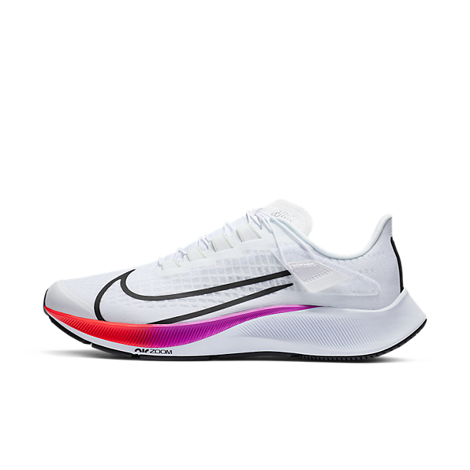 Nike Air Zoom Pegasus 37 Flyease White Multi-Color