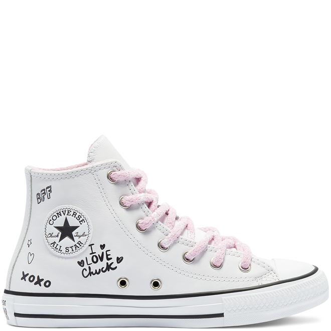 Big Kids Notes from BFF Chuck Taylor All Star High Top