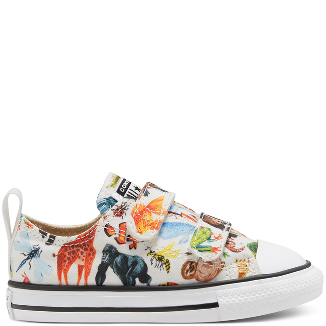 Toddler Science Class Easy-On Chuck Taylor All Star Low Top