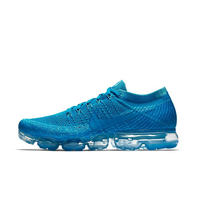 Nike Air Vapormax Light Blue Orbit zijaanzicht