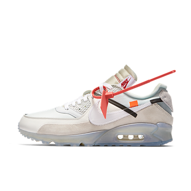 Nike The Ten Air Max 90 'Off White' zijaanzicht