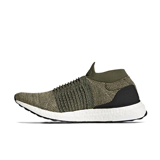 adidas Ultra Boost Laceless Olive