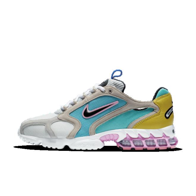 Size? X Nike Spiridon Zoom Cage 2 'Carnaby' zijaanzicht