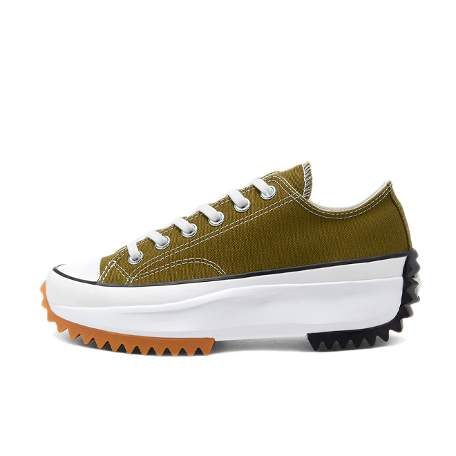 Converse Run Star Hike Ox 'Dark Moss' zijaanzicht