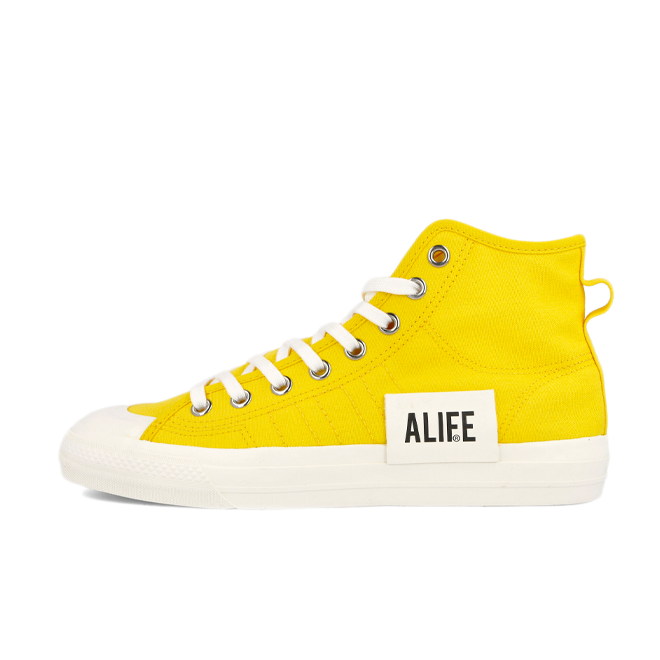 Alife X adidas Nizza Hi 'Yellow'