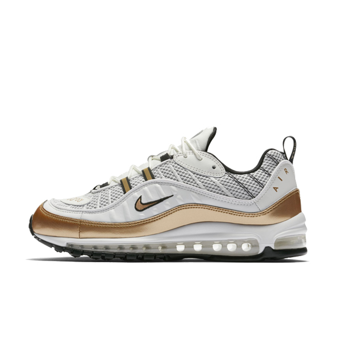 "Nike Air Max 98 UK Edition ""White/ Gold"""