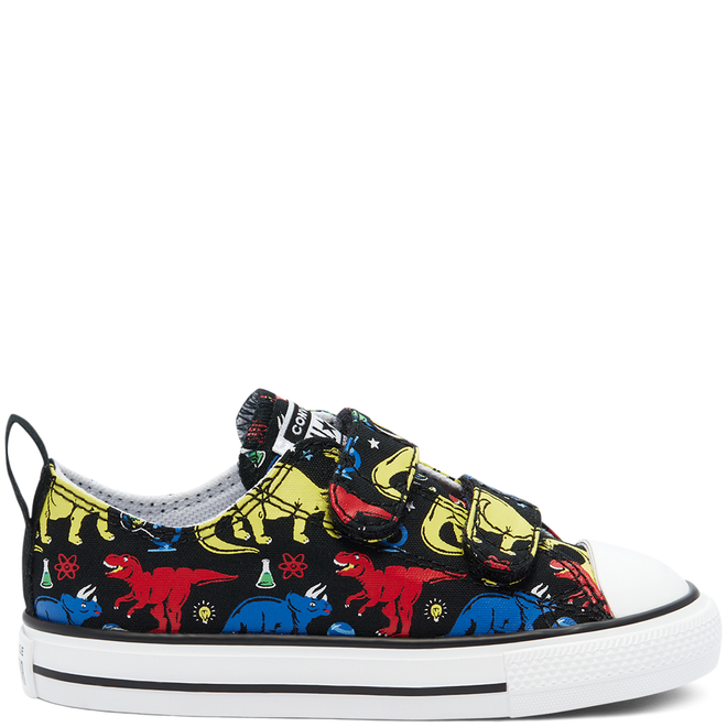 Toddler Dino Class Easy-On Chuck Taylor All Star Low Top