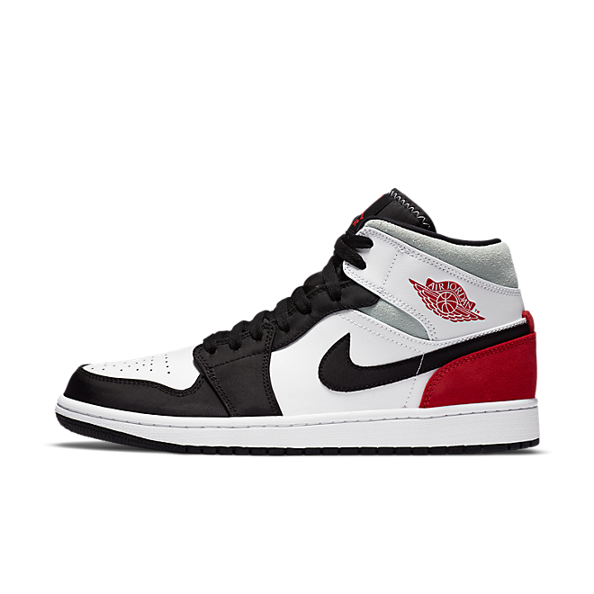 Air Jordan 1 Mid SE 'Union Black Toe' zijaanzicht