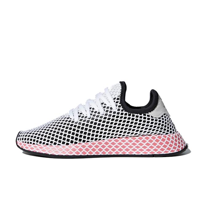 adidas Deerupt W 'Core Black/Chalk Pink'