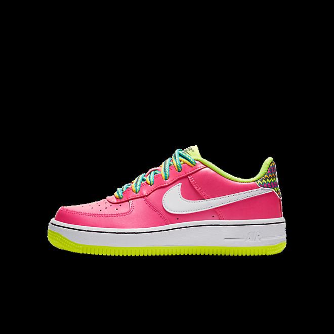 Nike Air Force 1 Low Pink Volt Aqua (GS)