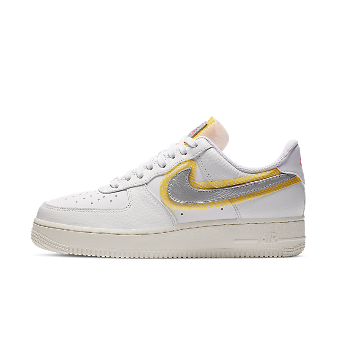 Nike Air Force 1 LX 'White/Gold' CZ8104-100