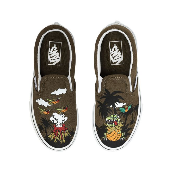 VANS Dineapple Floral Classic Slip-on