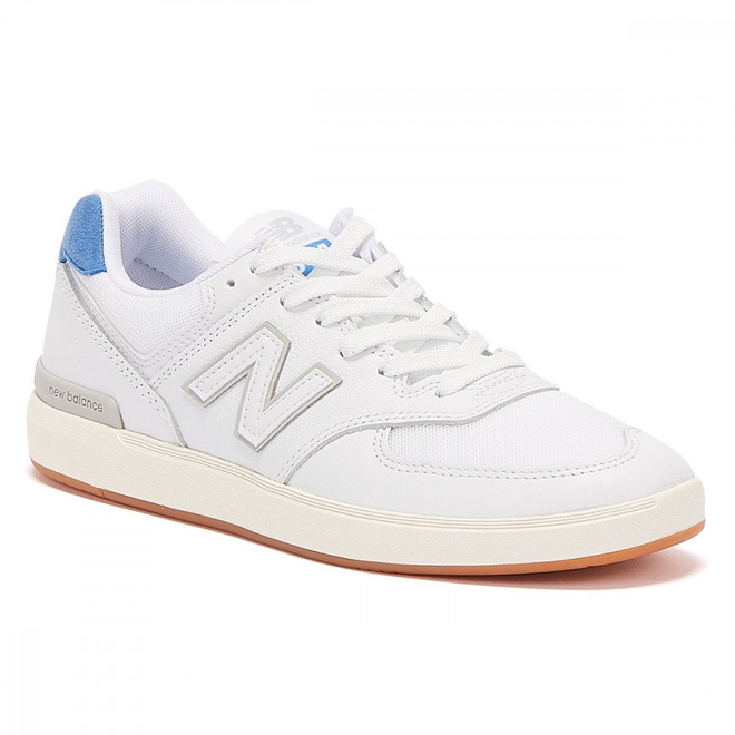 New Balance AM574 Mens White / Blue Trainers