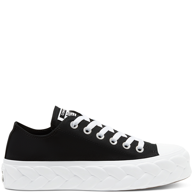 Womens Runway Cable Platform Chuck Taylor All Star Low Top