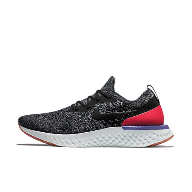 Nike Epic React Flyknit 'Red Orbit' zijaanzicht