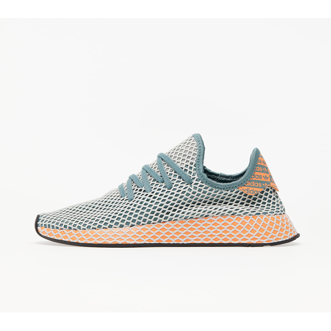 adidas Deerupt Runner Raw Green/ Grey One/ Amber Tint