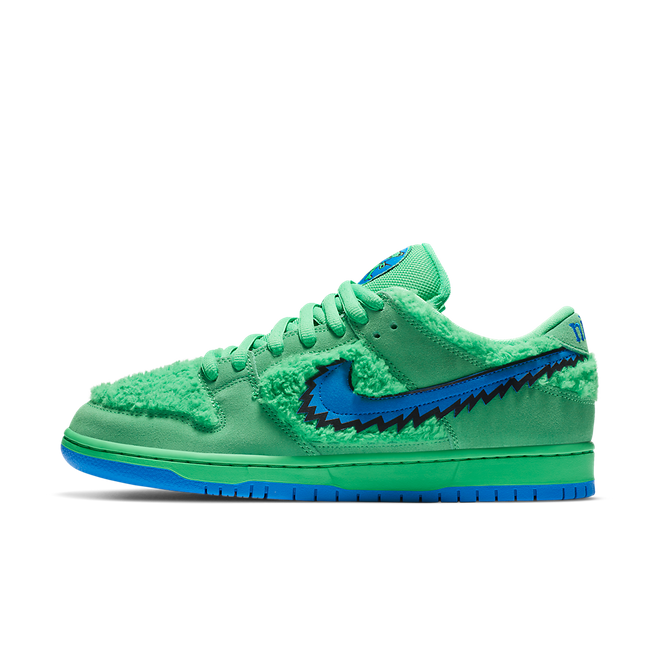 Grateful Dead X Nike SB Dunk Low 'Green Bear'