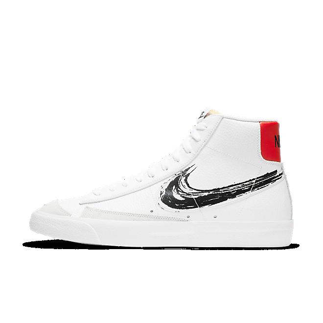 Nike Blazer Mid'77 'Brushstroke Pack' - White