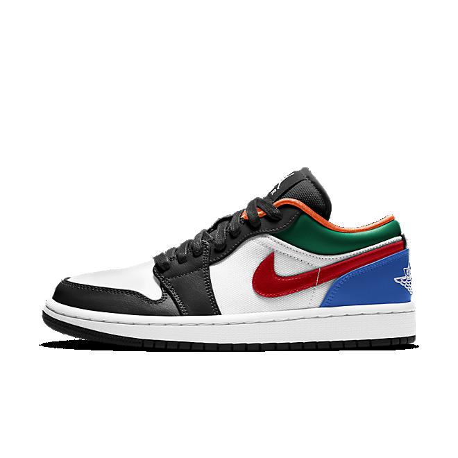 Jordan 1 Low Multi-Color Black Toe (W)
