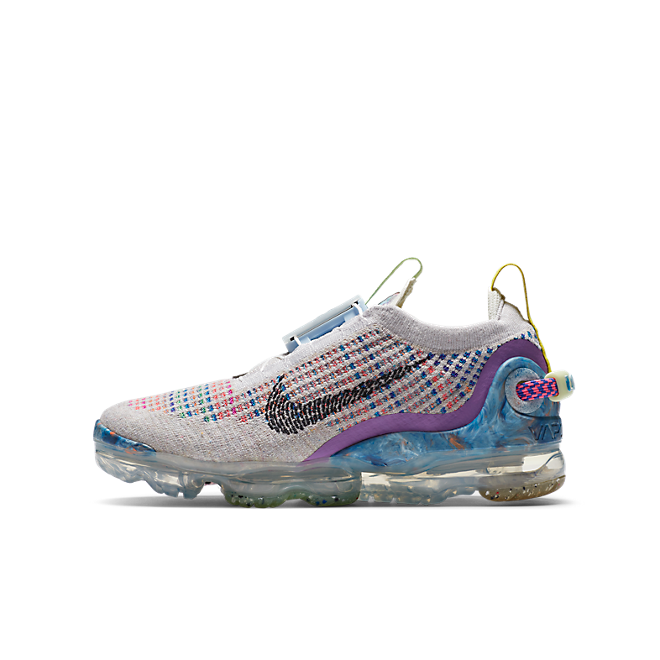 Nike Air VaporMax 2020 Flyknit Pure Platinum Multi-Color (GS)
