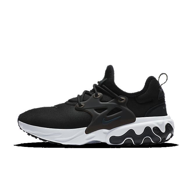 Nike React Presto Black White Off Noir