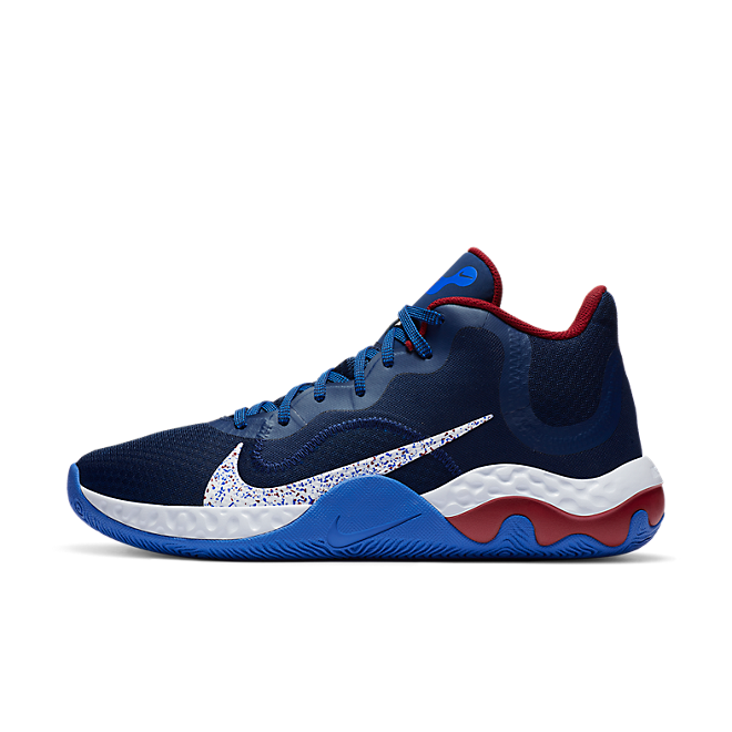 Nike Renew Elevate Donkerblauw Wit